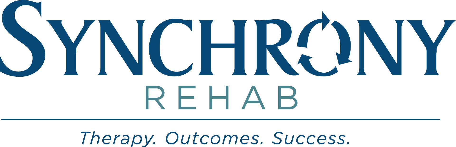 Synchrony Rehab: Therapy. Outcomes. Success.